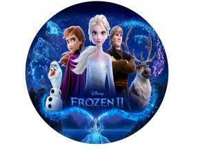 Jedlý oplatek 12 Frozen -20 cm