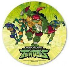 Jedlý oplatek Želvy Ninja - 20 cm