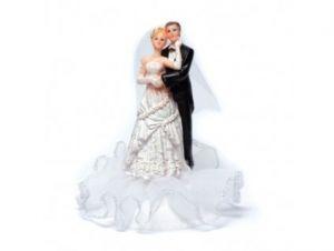 Svatební figurka 001