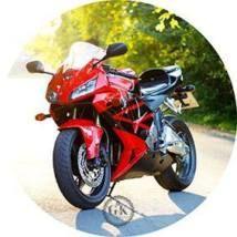 Jedlý oplatek 2 motorka - 20 cm