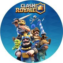 Jedlý oplatek Clash royale 1 - 20 cm