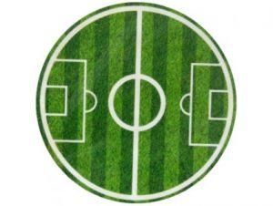 Jedlý oplatek -2 fotbal 20 cm