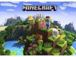 Jedlý oplatek 2 Minecraft A4