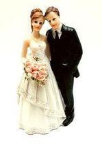 Svatební figurka 002