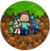 Jedlý opl. Minecraft Kids - 20 cm