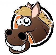 Jedlý oplatek Kůň - 20 cm