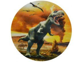 Jedlý oplatek dinosaurus - 20 cm