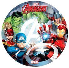 Jedlý oplatek Avengers 3 - 20 cm